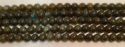 8mm Labradorite Beads