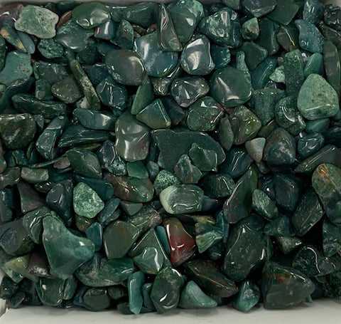 Tumbled Bloodstone Chips