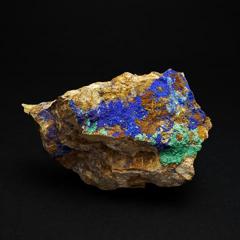 Azurite and Malachite Mineral