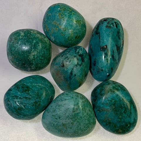 Tumbled Chrysocolla, 1 piece