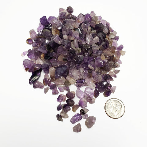 Tumbled Amethyst Chips