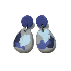 Dangle Janes - Smudge Edit - Lavender + Grey & Blue