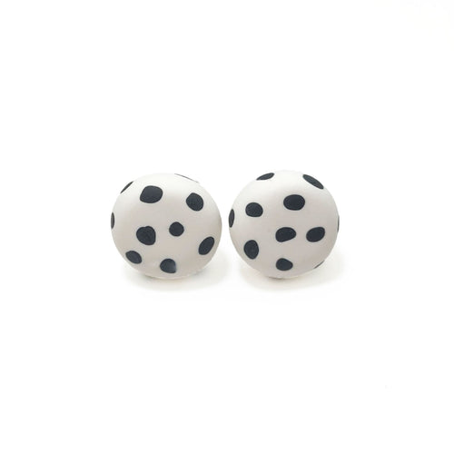 Spotty Janes - White + Black Spot