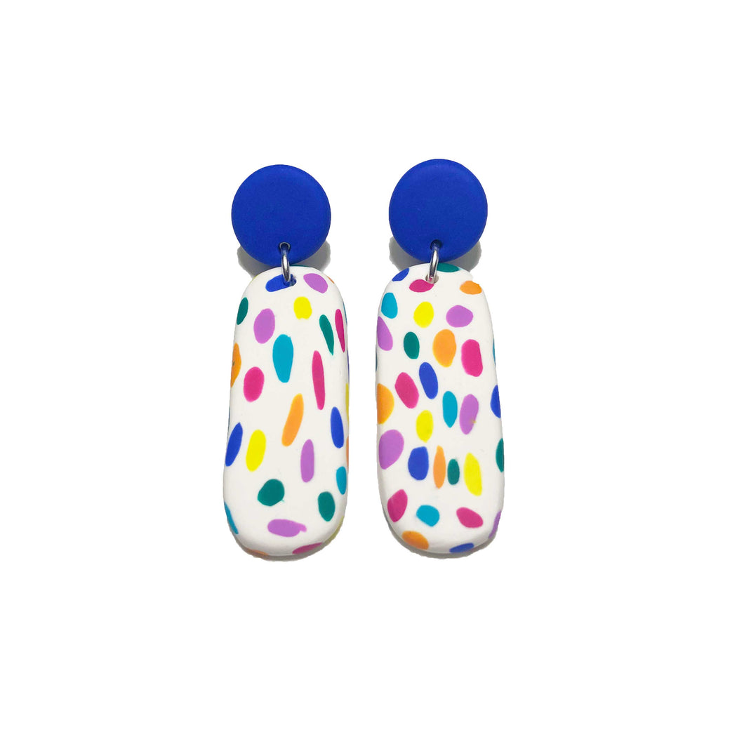Sticky Janes - Rainbow Spot + Electric Blue