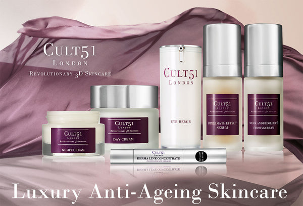 Indulge Your Skin In Luxury CULT51 Anti-Ageing!