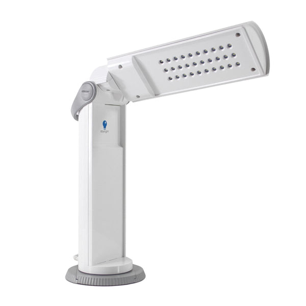 Daylight Twist Portable LED Lamp White/Grey 3308