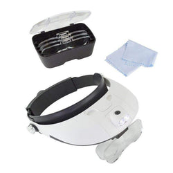 Deluxe LED Headband Magnifier Kit 8639