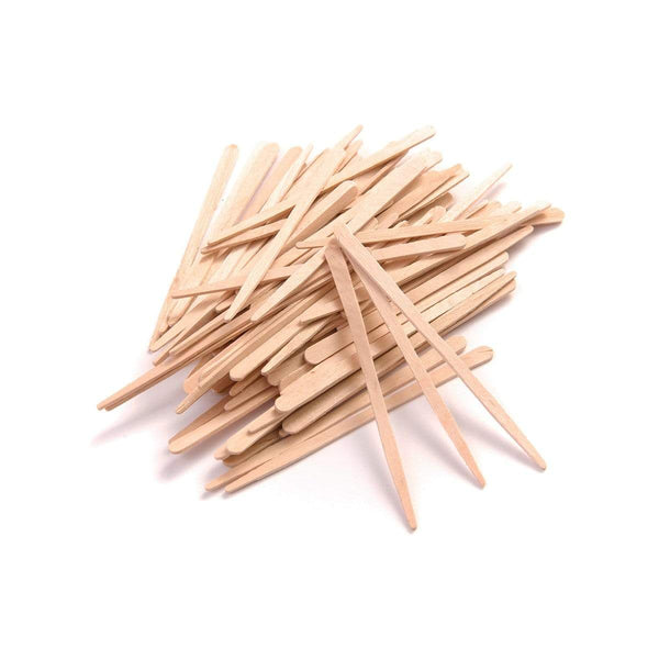 Disposable Mini Wooden Spatulas Pk 200 2429