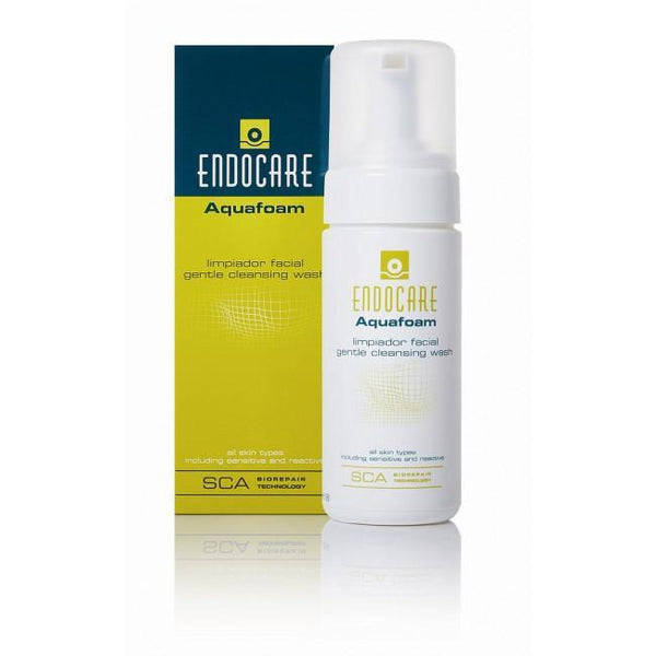 Endocare Aquafoam Gentle Cleansing Wash 125ml 4638