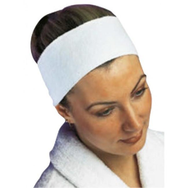Headband Velcro Fixing - White 1785