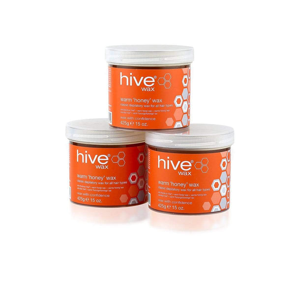 Hive Warm Honey Wax Pack of 3 3172