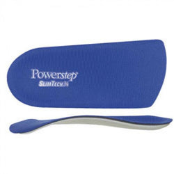 Men 3-3.5 Women 4.5-5 Cuxson Powerstep Slimtech 3/4 Orthotic 0472-3