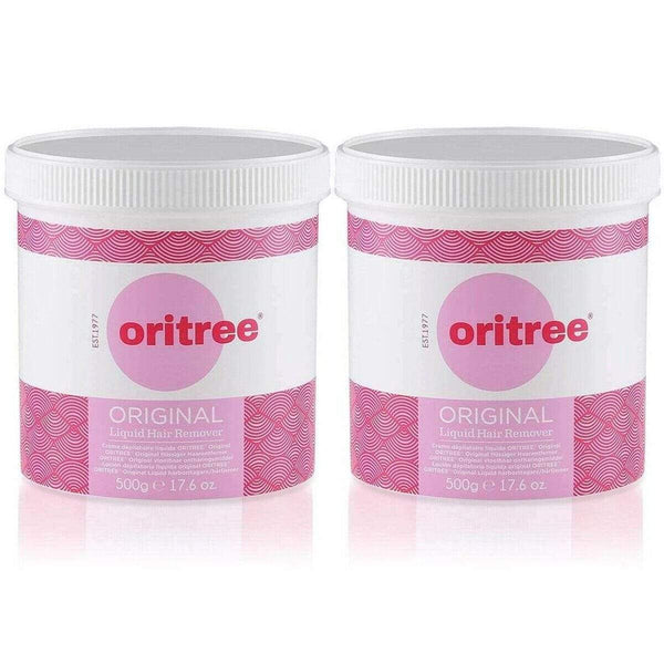 Pack of 2 x 500g Oritree Original Wax 500g --