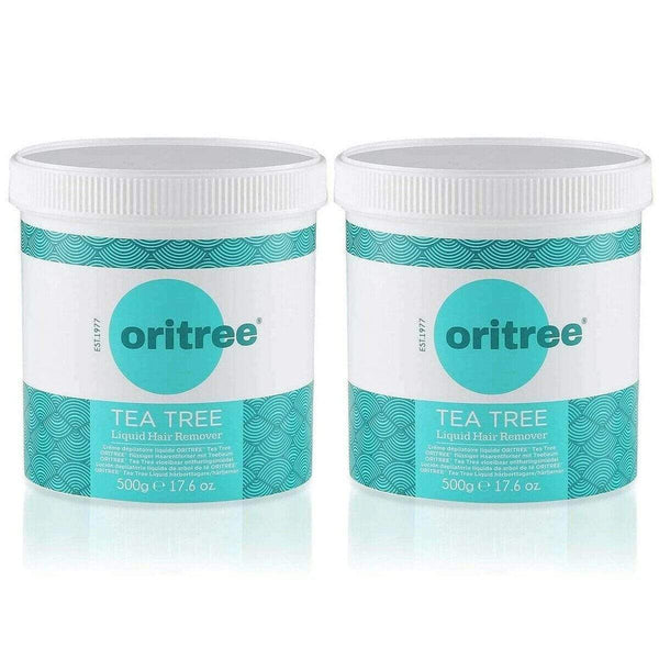 Pack of 2 x 500g Oritree Tea Tree Wax 500g H5019