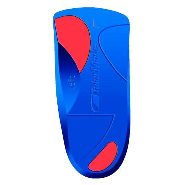 TalarMade Trio 3/4 Length Red Firm Orthotics, pair