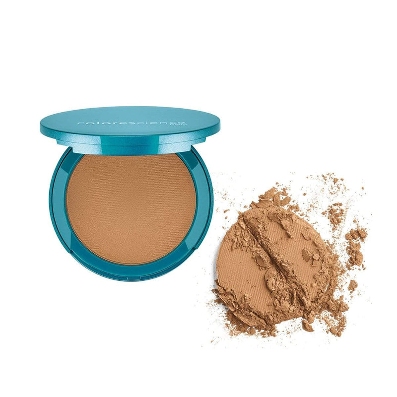Tan Natural Colorescience Natural Finish Pressed Foundation SPF 20 S3019-NA