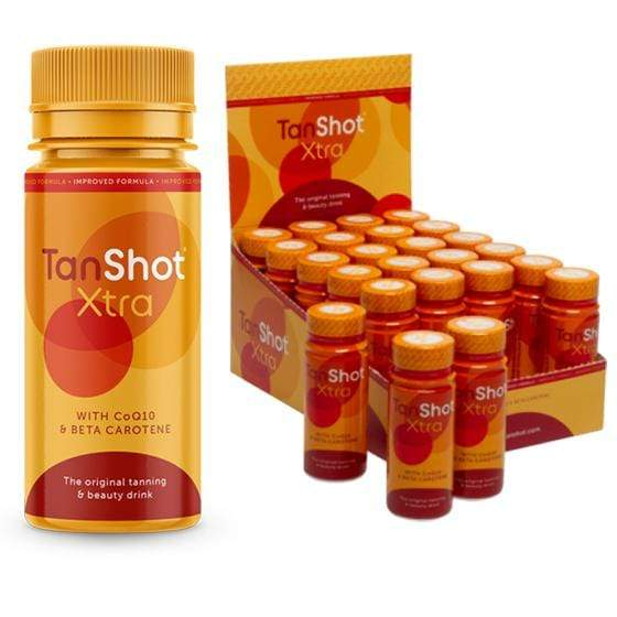 TanShot Xtra Tan & Beauty Drink 60ml Paquete / 24 H2779