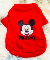 BratPup Red Mickey T-shirt