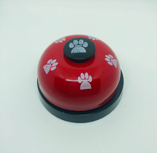BratPup Red Paw Bell Ringer