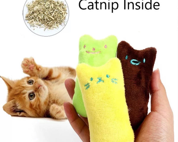 BratPup Catnip Kitties