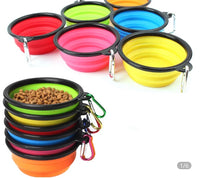 BratPup Collapsible Silicone Bowls