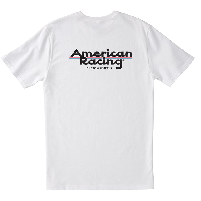 American Racing Logo T-Shirt - White