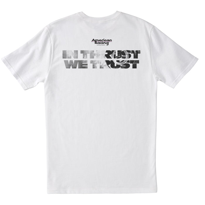 In Thrust We Trust T-Shirt - White