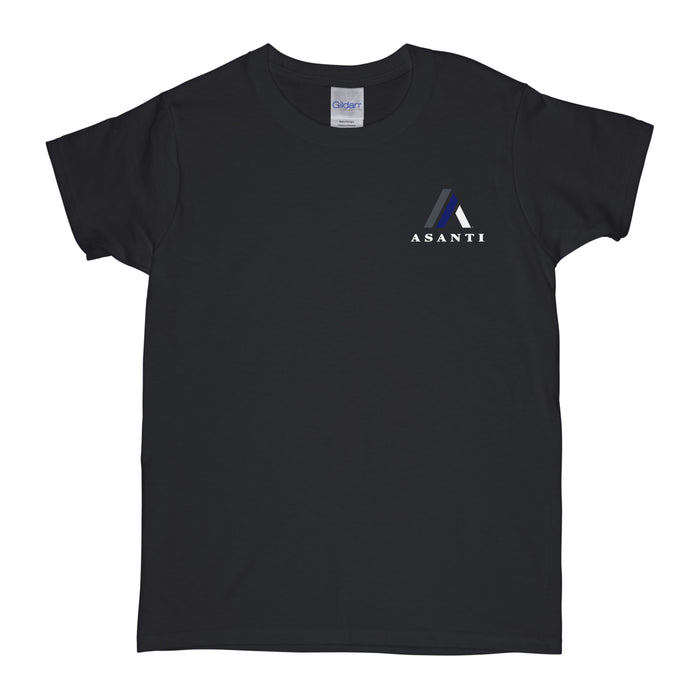 Asanti Logo Womens T-Shirt - Black