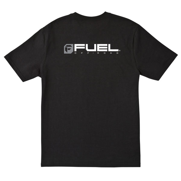 Fuel Logo T-Shirt - Black