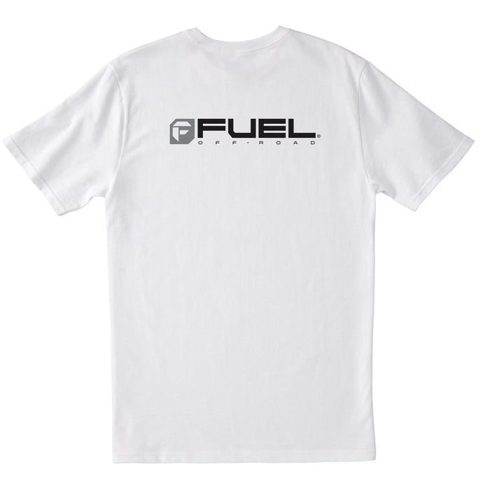 Fuel Logo T-Shirt - White