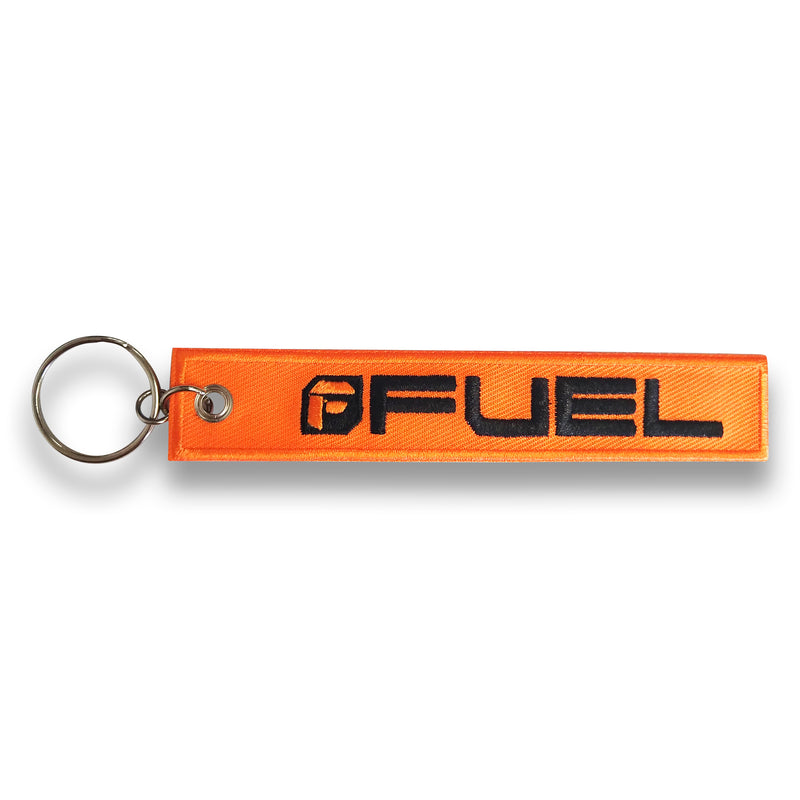 Fuel Embroidered Keychain