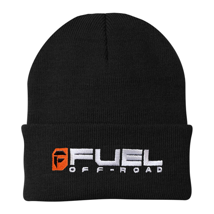 Fuel Knit Cuff Beanie - Black