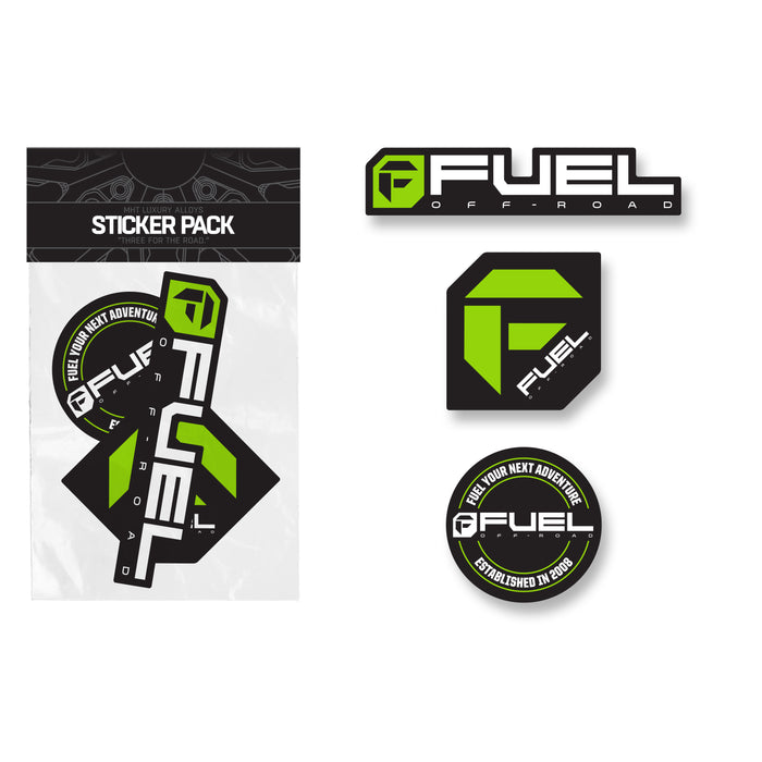 Fuel Sticker Pack - Green