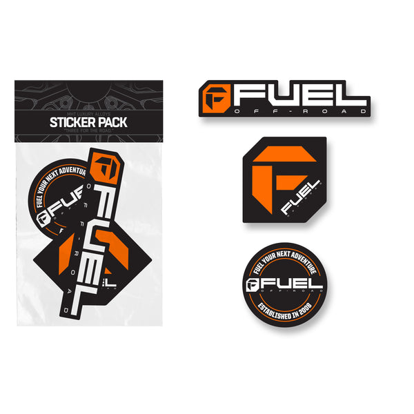 Fuel Sticker Pack - Orange