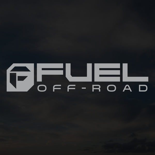 Fuel Cut Transfer Decal - Gray