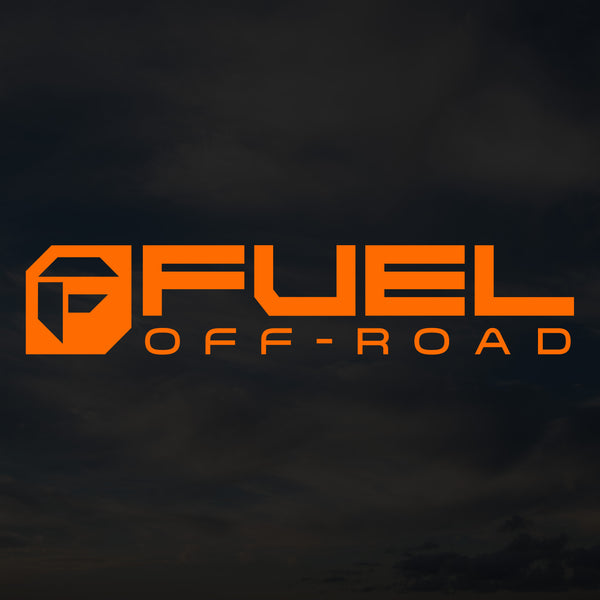 Fuel Cut Transfer Decal - Orange