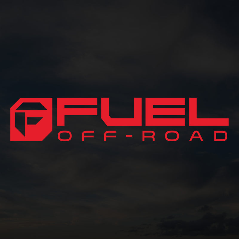 Fuel Cut Transfer Decal - Red