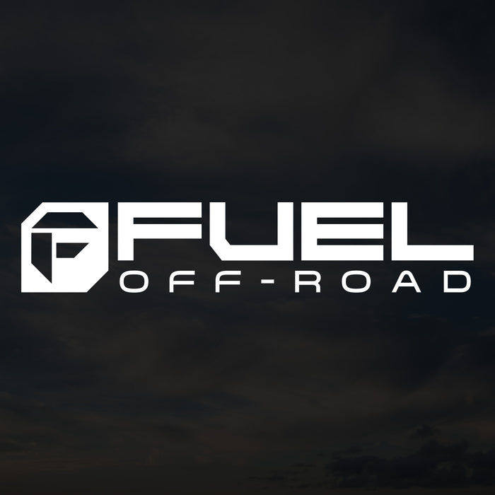 Fuel Cut Transfer Decal - White