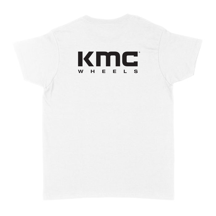 KMC Logo Womens T-Shirt - White