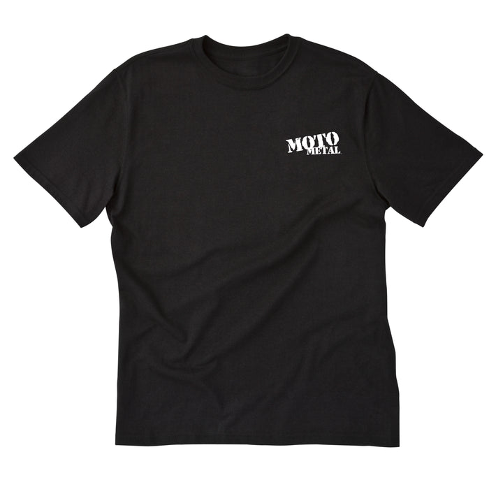 Moto Metal Logo T-Shirt - Black
