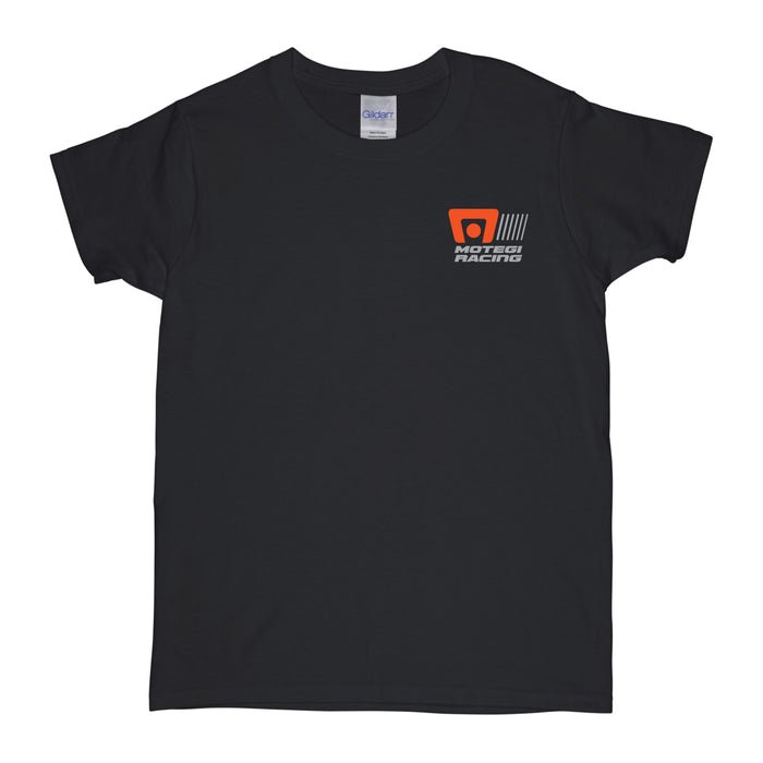 Motegi Racing Logo Womens T-Shirt - Black