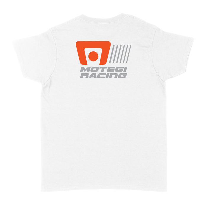 Motegi Racing Logo Womens T-Shirt - White
