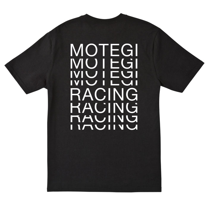 Race Repeat T-Shirt - Black