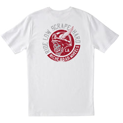 Niche Scrape Hard T-Shirt - White