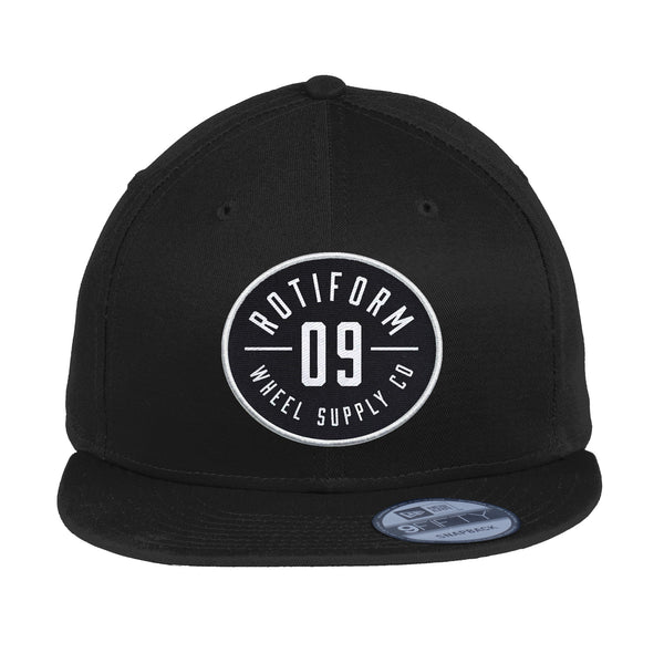 Rotiform - Oval Patch & Embroidered New Era Snapback Hat