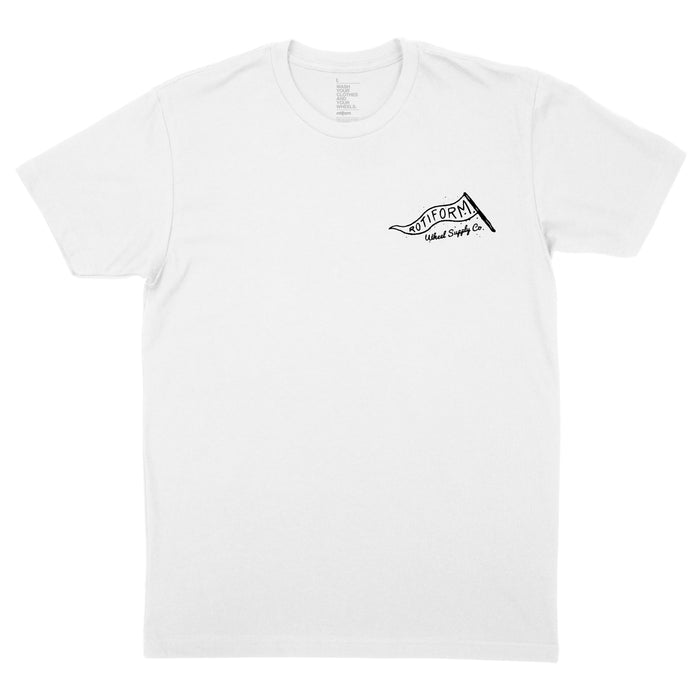 Lazy Wheel T-Shirt - White