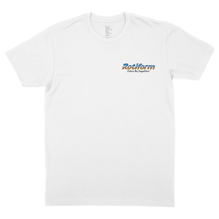 Outrun The Competition T-Shirt - White