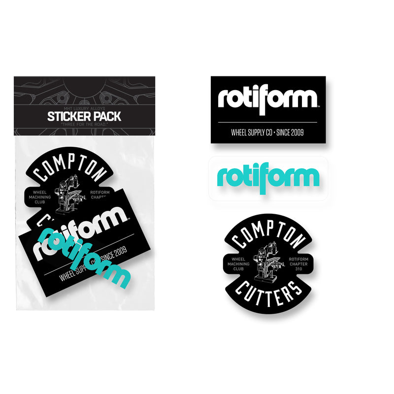 Rotiform Sticker Pack