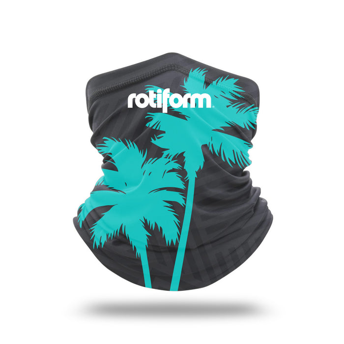 Rotiform - Neck Gaiter Gray/Teal