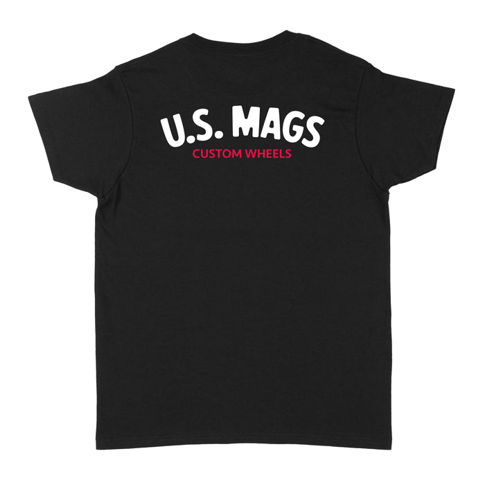 U.S. Mags Logo Womens T-Shirt - Black